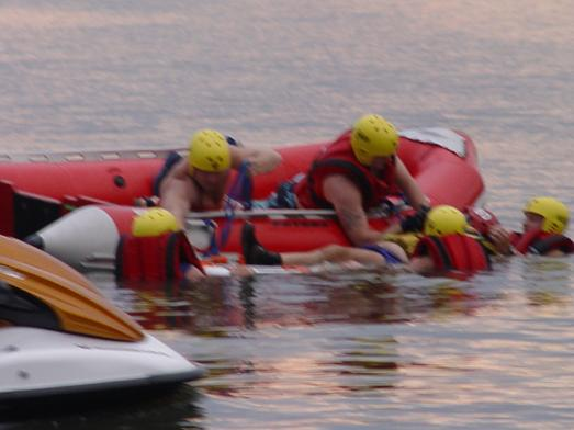Fire - BSFD Water Rescue Training 2005