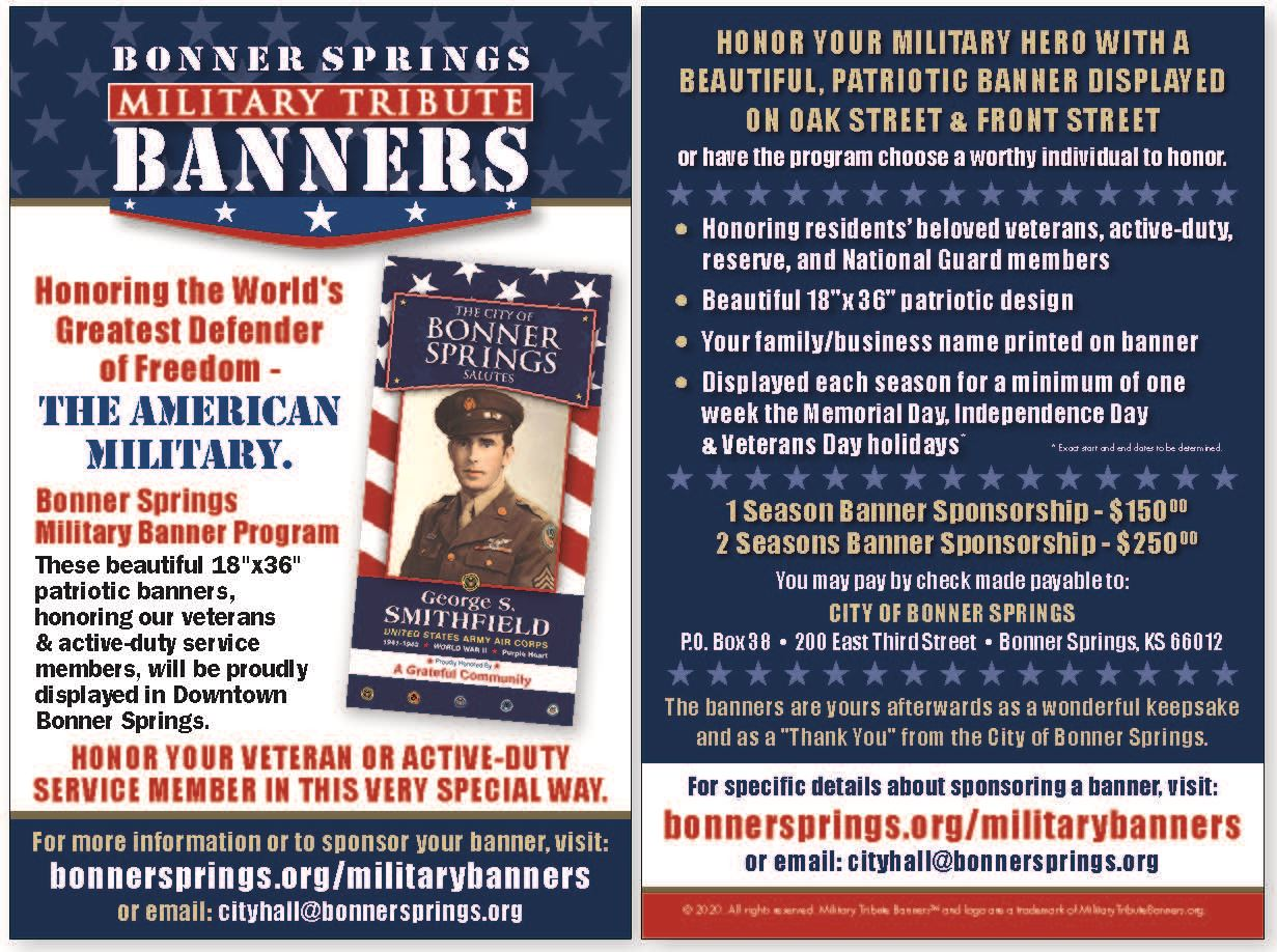 Bonner Springs KS Mini Flier